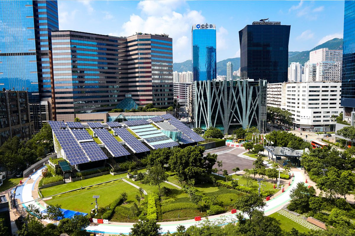 Town Square Solar Installation