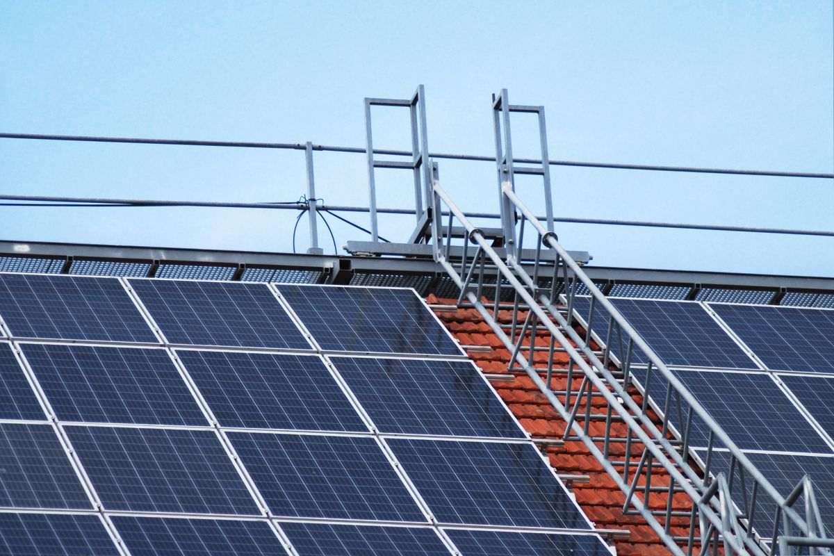 Solar Panels for Terraced Roofs