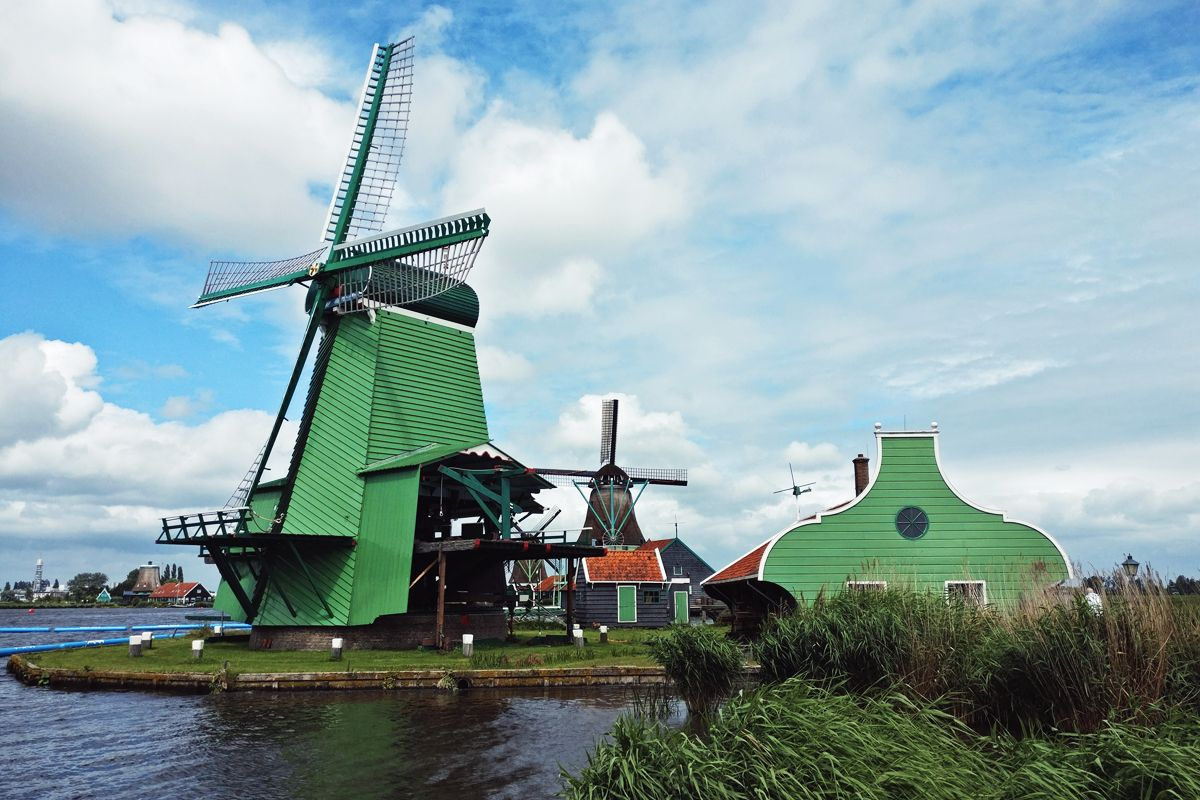Traditional Windmill Power